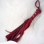 Shorty Garment Leather &  Suede Flogger, 30 x 1/2