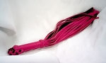 Shorty Garment Leather & Suede Flogger, 60 Falls, 1/4