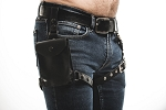 Leather Thigh Pouch Harness
